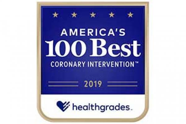 America's 100 Best Hospitals for Coronary Interventions