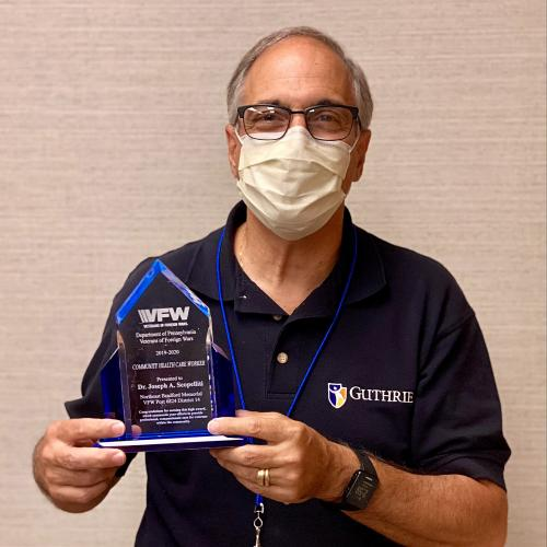 Guthrie CEO Honored with Outstanding Community Healthcare Employee of the Year Award